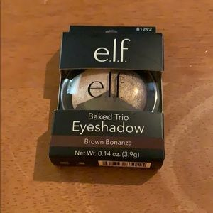 E.l.f. Baked Trio eyeshadow Brown Bonanza New